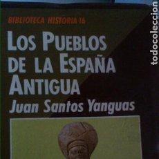 Libros: LOS PUEBLOS DE LA ESPAÑA ANTIGUA. Lote 102777366