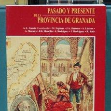 Libros: PASADO Y PRESENTE DE LA PROVINCIA DE GRANADA. A. L. GARCÍA (COORDINADOR). Lote 103558215