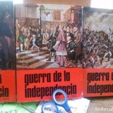 Libros: GUERRA DE LA INDEPENDENCIA , SERVICIO HISTORICO MILITAR . Nº 3,4,5. Lote 105281139