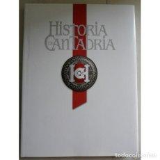 Libros: HISTORIA DE CANTABRIA - TOMO DE LUJO - 2007. Lote 109256659