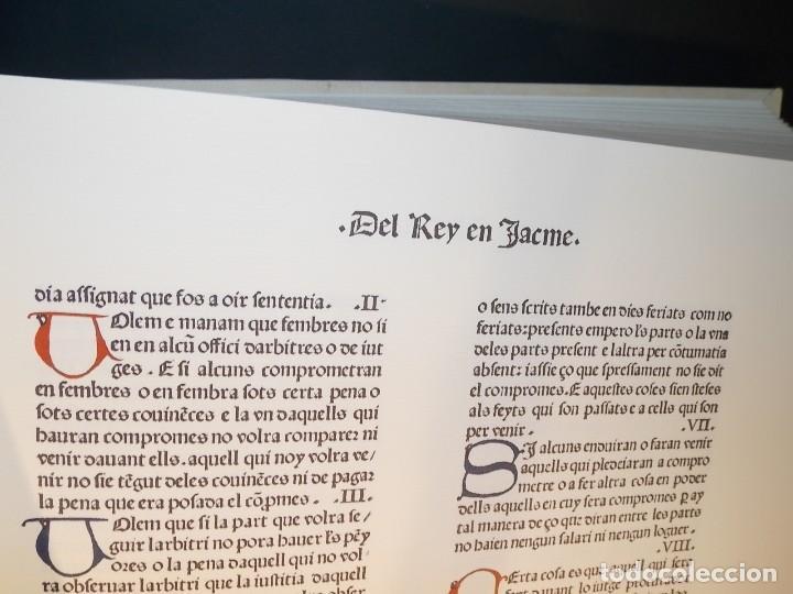 Libros: Antiguo libro le furs e ordinacions del regne de valencia (facsimil) Valencia - Foto 7 - 124034184
