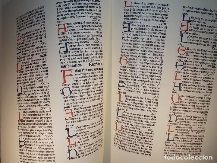 Libros: Antiguo libro le furs e ordinacions del regne de valencia (facsimil) Valencia - Foto 8 - 124034184
