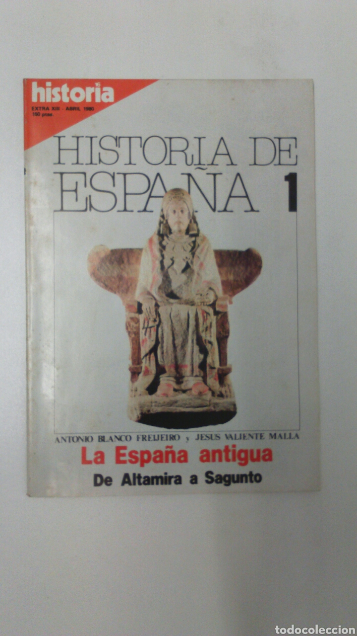 LIBRO HISTORIA DE ESPAÑA 1 EXTRA XIII (Libros Nuevos - Historia - Historia de España)