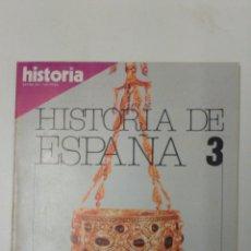 Libros: LIBRO HISTORIA DE ESPAÑA 3 EXTRA XV. Lote 96166892