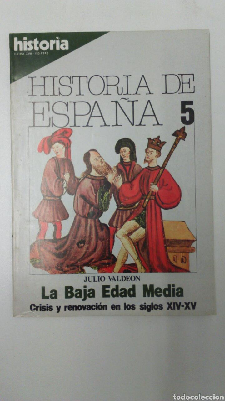 LIBRO HISTORIA DE ESPAÑA 5 EXTRA XVII (Libros Nuevos - Historia - Historia de España)