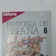 Libros: LIBRO HISTORIA DE ESPAÑA 6 EXTRA XVIII. Lote 96167159