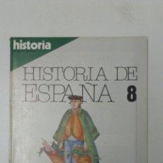 Livros: LIBRO HISTORIA DE ESPAÑA 8 EXTRA XX. Lote 96167331
