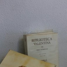 Libros: BIBLIOTECA VALENTINA. Lote 101538240