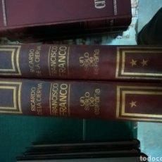 Libros: * F. FRANCO UN SIGLO DE ESPAÑA* 2 TOMOS COMPLETA* CAJA 3. Lote 109837322