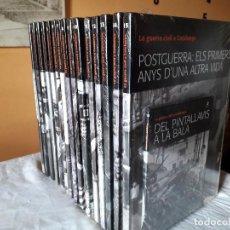 Libros: LA GUERRA CIVIL A CATALUNYA. Lote 114471519