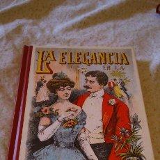 Libros: LIBRO DEL RECUERDO. LA ELEGANCIA EN LA VIDA SOCIAL.. Lote 114743464