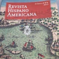 Libros: REVISTA HISPANOAMERICANA N4. 2013. Lote 114786883