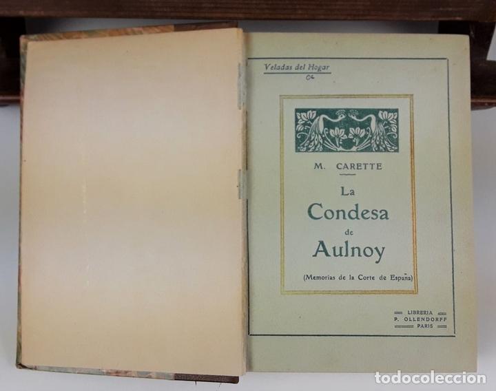 Libros: LA CONDESA DE AULNOY. MEMORIAS DE LA CORTE DE ESPAÑA. M. CARETTE. S/F. - Foto 2 - 115685935