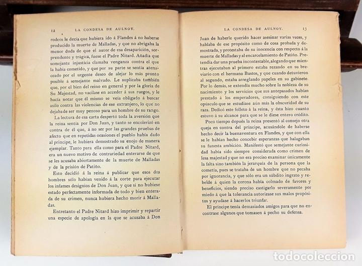 Libros: LA CONDESA DE AULNOY. MEMORIAS DE LA CORTE DE ESPAÑA. M. CARETTE. S/F. - Foto 4 - 115685935