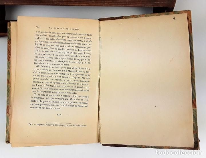 Libros: LA CONDESA DE AULNOY. MEMORIAS DE LA CORTE DE ESPAÑA. M. CARETTE. S/F. - Foto 6 - 115685935