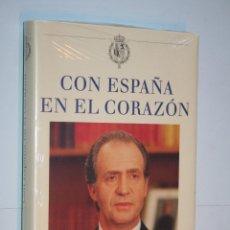 Libros: CON ESPAÑA EN EL CORAZON (EDICION CONMEMORATIVA) *** CIRCULO LECTORES *** PRECINTADO. Lote 121167099
