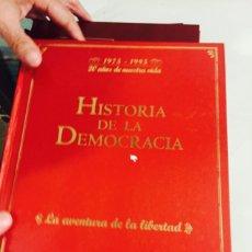 Libros: LIBRO HISTORIA DE LA DEMOCRACIA 1975-1995. Lote 121904576
