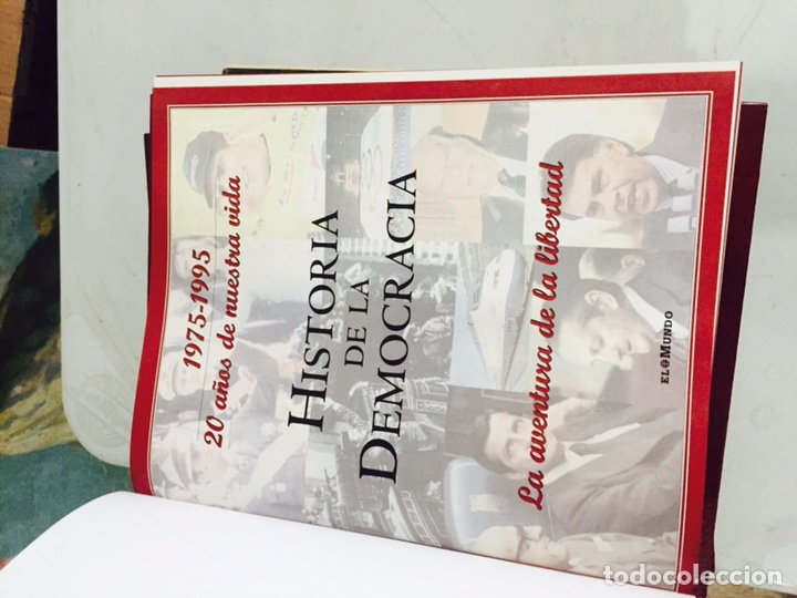 Libros: Libro historia de la democracia 1975-1995 - Foto 2 - 121904576