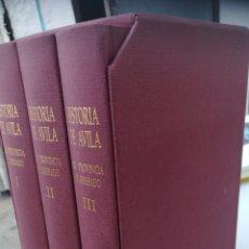 Libros: HISTORIA DE ÁVILA SU PROVINCIA Y OBISPADO..DON JUAN MARTÍN DE CARRAMOLINO. Lote 129254151