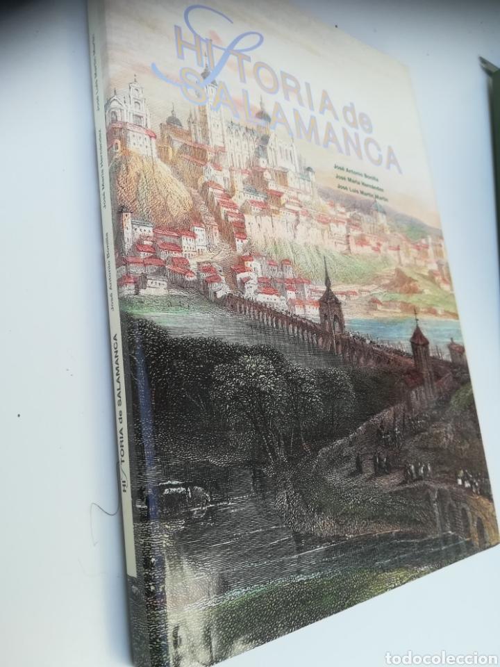 HISTORIA DE SALAMANCA, JOSÉ ANTONIO BONILLA, JOSÉ MARIA HERNÁNDEZ Y JOSÉ LUÍS MARTÍN MARTÍN. (Libros Nuevos - Historia - Historia de España)