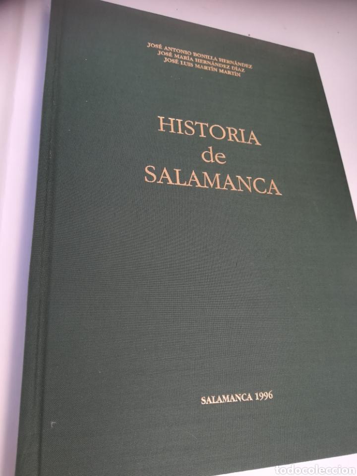 Libros: Historia de Salamanca, José Antonio Bonilla, José Maria Hernández y José Luís Martín Martín. - Foto 4 - 129533895