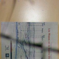 Libros: LOS MAPAS EN LA GUERRA CIVIL 1936 - 1939. Lote 130272810