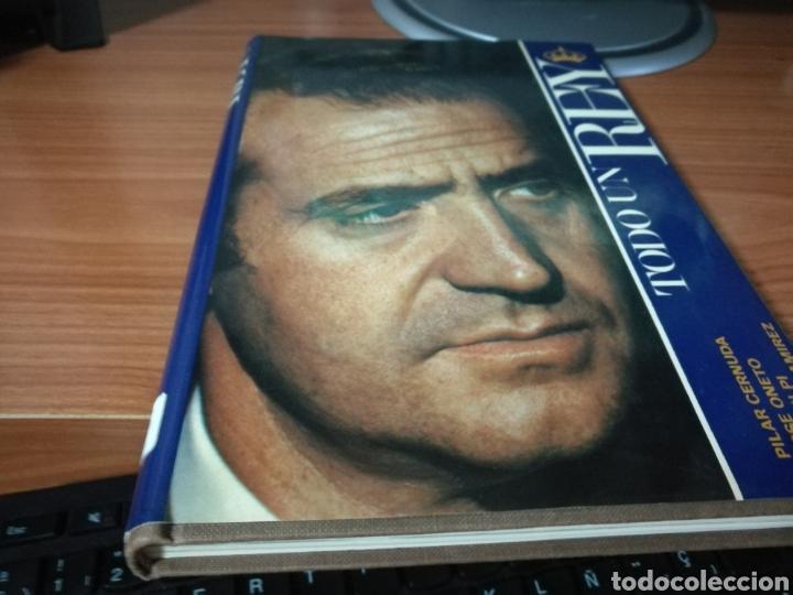 LIBRO TODO UN REY. SOBRE JUAN CARLOS I. CÍRCULO DE LECTORES. 1981 (Libros Nuevos - Historia - Historia de España)