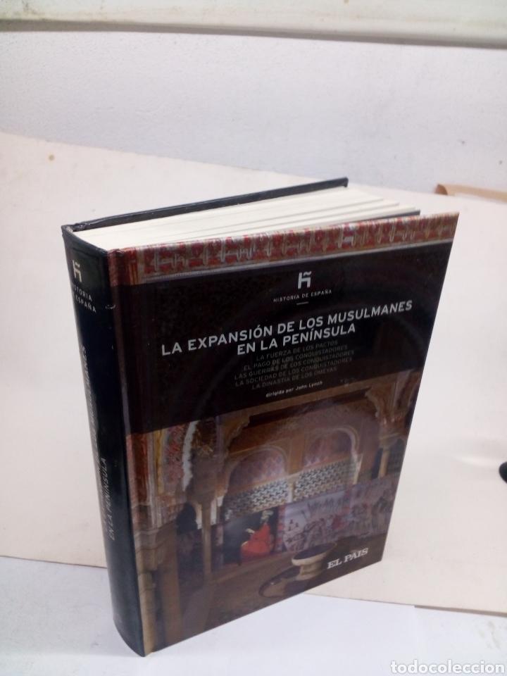 Libros: Libro de colección Historia de España El Pais N°5 La expansión de los musulmanes en la península - Foto 2 - 139523344