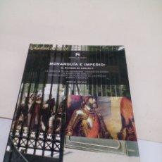 Libros: LIBRO DE COLECCIÓN HISTORIA DE ESPAÑA EL PAIS N°11 MONARQUÍA E IMPERIO: EL REINADO DE CARLOS V. Lote 139524810