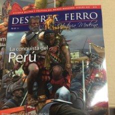 Libros: DOS O MÁS REVISTAS, ENVIO GRATIS. DESPERTA FERRO MODERNA Nº37 LA CONQUISTA DE PERÚ. Lote 266324003