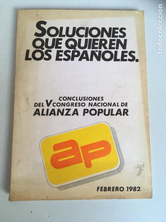 LIBRO DE ALIANZA POPULAR (Libros Nuevos - Historia - Historia de España)