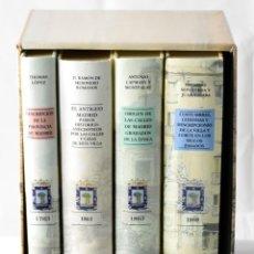 Libros: HISTORIA DE MADRID EN 4 TOMOS. Lote 145484860