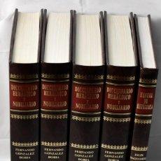 Libros: DICCIONARTIO HERÁLDICO Y NOBILIARIO EN 5 TOMOS. GONZÁLEZ DORIA, FERNADO. Lote 145049462