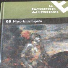 Libros: ENCICLOPEDIA DEL ESTUDIANTE NÚMERO 8 - HISTORIA DE ESPAÑA. Lote 147338189