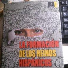 Libros: LA FORMACIÓN DE LOS REINOS HISPÁNICOS, JOSÉ LUIS VILLACAÑAS, EDITORIAL ESPASA.. Lote 148063950