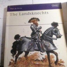 Libros: THE LANDSKNECHTS, DOUGLAS MILLER, OSPREY EDITORIAL. Lote 148072130