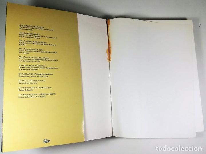 Libros: EL BUQUE EN LA ARMADA ESPAÑOLA. VV.AA. REEDICIÓN MADRID 1999. - Foto 2 - 150116314