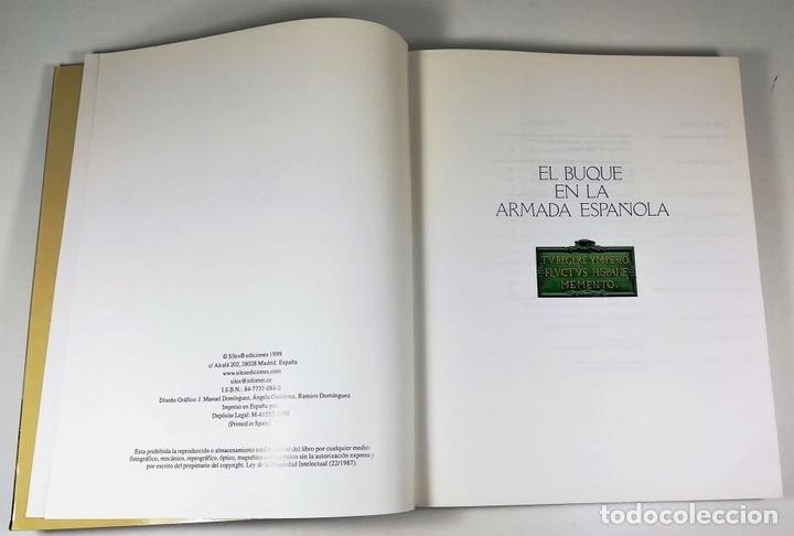 Libros: EL BUQUE EN LA ARMADA ESPAÑOLA. VV.AA. REEDICIÓN MADRID 1999. - Foto 3 - 150116314