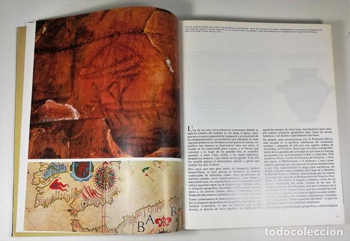Libros: EL BUQUE EN LA ARMADA ESPAÑOLA. VV.AA. REEDICIÓN MADRID 1999. - Foto 5 - 150116314