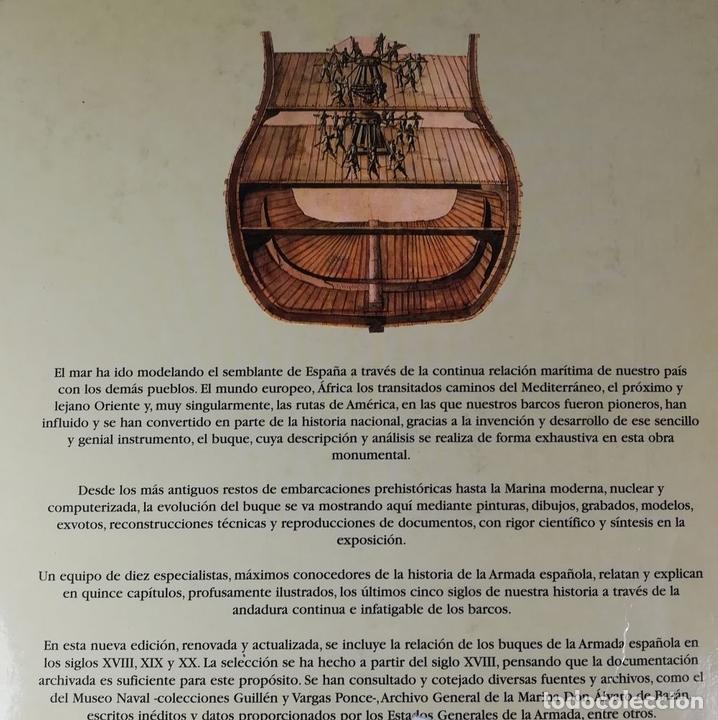 Libros: EL BUQUE EN LA ARMADA ESPAÑOLA. VV.AA. REEDICIÓN MADRID 1999. - Foto 8 - 150116314