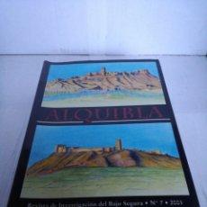 Libros: LIBRO ALQUIBLA REVISTA DE INVESTIGACIÓN DEL BAJO SEGURA NÚMERO 7 2001. Lote 152015269