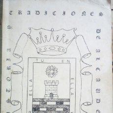 Livres: HISTORIA Y TRADICIONES DE ALCAUDETE. Lote 152288954