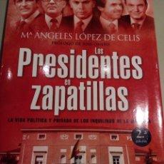 Libros: LOS PRESIDENTES EN ZAPATILLAS-M.A.LOPEZ DE CELIS. Lote 156338946