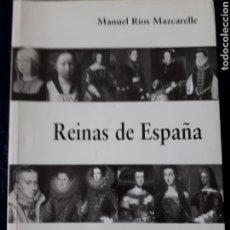 Libros: REINAS DE ESPAÑA. Lote 158964480
