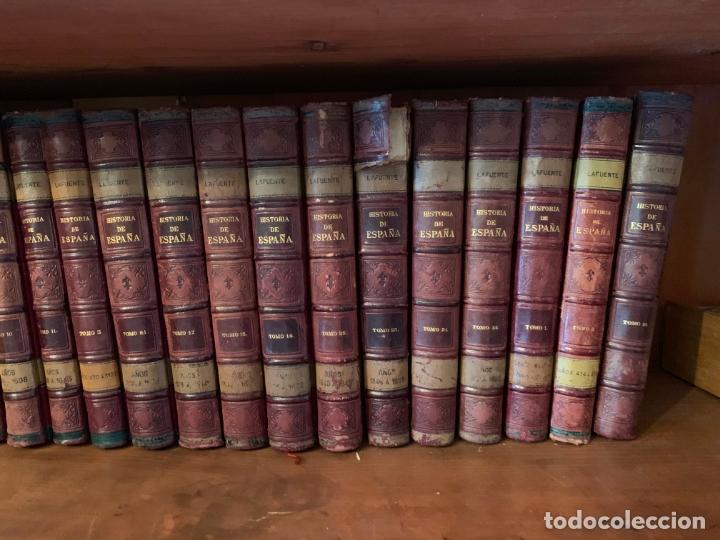 Libros: 25 tomos de la Historia General de España hasta la muerte de Fernando VII, editada en 1880 - Foto 2 - 171531832