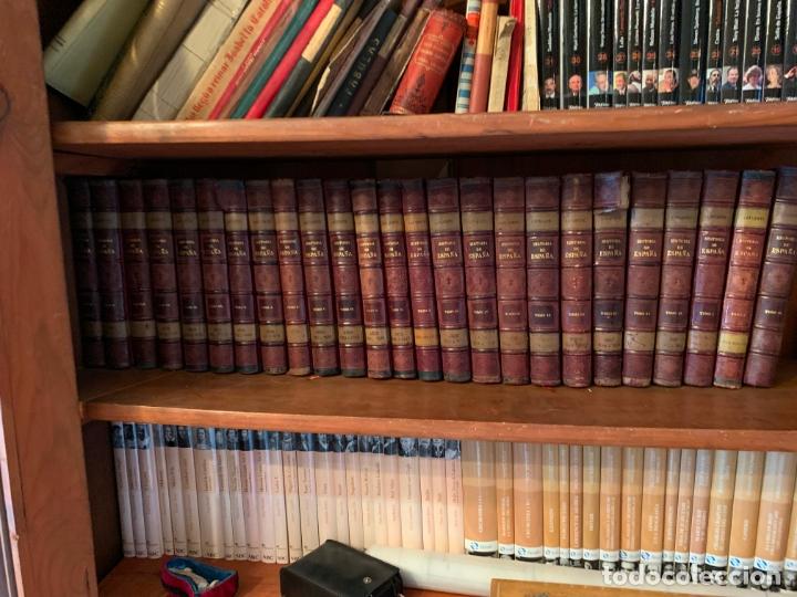 25 TOMOS DE LA HISTORIA GENERAL DE ESPAÑA HASTA LA MUERTE DE FERNANDO VII, EDITADA EN 1880 (Libros Nuevos - Historia - Historia de España)