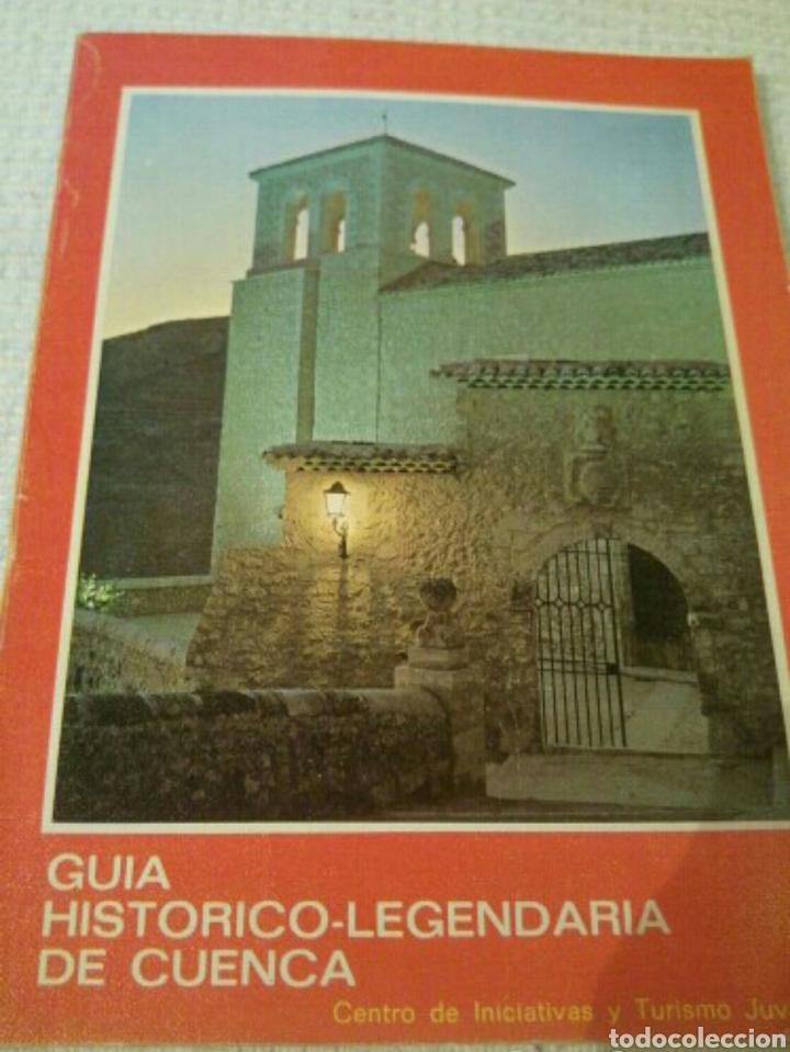 Libros: 1972 Guía histórico legendaria de Cuenca 1972 - Foto 2 - 171145065