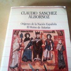 Libros: ORÍGENES DE LA NACIÓN ESPAÑOLA. REINO DE ASTURIAS.. Lote 174014735
