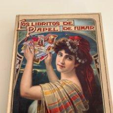 Libros: LOS LIBRITOS DE PAPEL DE FUMAR. Lote 191159221