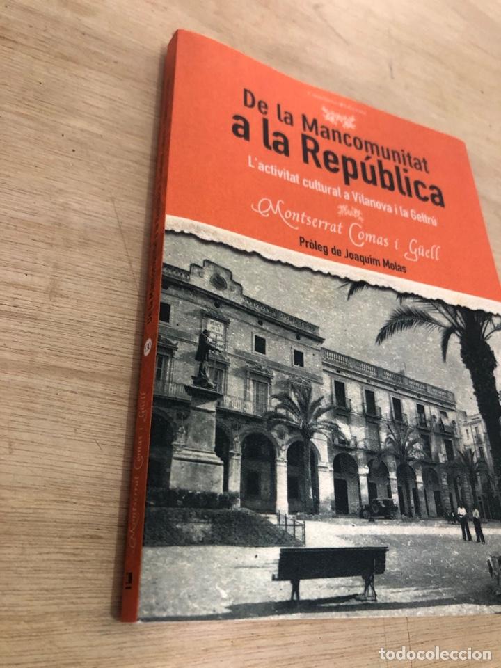 Libros: De la mancomunitat a la republica - Foto 2 - 177399137